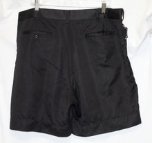 Load image into Gallery viewer, Grandslam Black Pleated Dress Short Size 40