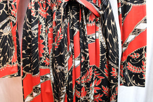 Vintage Handmade Light Blue Maxi Dress (see measurements)