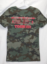 Load image into Gallery viewer, Ramones Farewell Adios Amigos Japan Leg 1995 Camo Tour Shirt Size XS