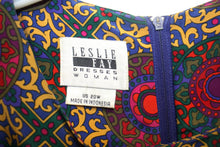 Load image into Gallery viewer, Vintage Umba for Parnes Feinstein Red Ruffled Neck Dress