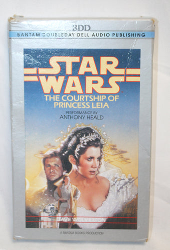 Star Wars - The Courtship of Princess Leia - Anthony Head- Audio Book - Cassette 180 Min