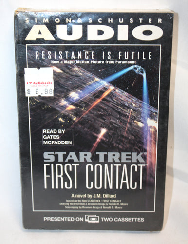 Star Trek First Contact - Audio Book - Cassettes 3 hours (NEW)