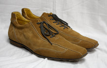 Load image into Gallery viewer, Canali Medium Yellow Tones Brown Square Toe Lace Up Shoe SIze 46 (Mens 11)