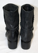 Load image into Gallery viewer, Women's Vince Camuto Black Studded Moto Boot Size 36 (US 6)