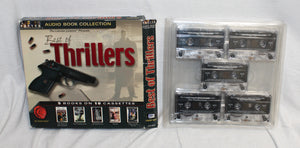 Best of Thrillers 5 Books on 10 Cassettes Audio Books