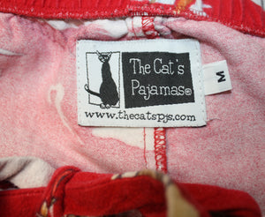 Coach Carista ROyal Purple Jacquard Logo Boat Loafer Size 8B