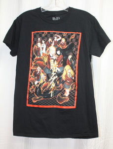 Vintage 80's Reyn Spooner Off White & Blue Long Sleeve Button Down Hawaiian Shirt Size M