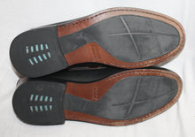 Load image into Gallery viewer, Johnston & Murphy Brown and Black Kiltie Loafer Size 11N (narrow)