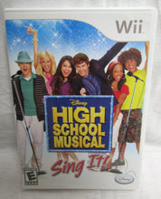 Load image into Gallery viewer, Wii High School Musical Sing IT