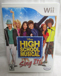 Wii High School Musical Sing IT