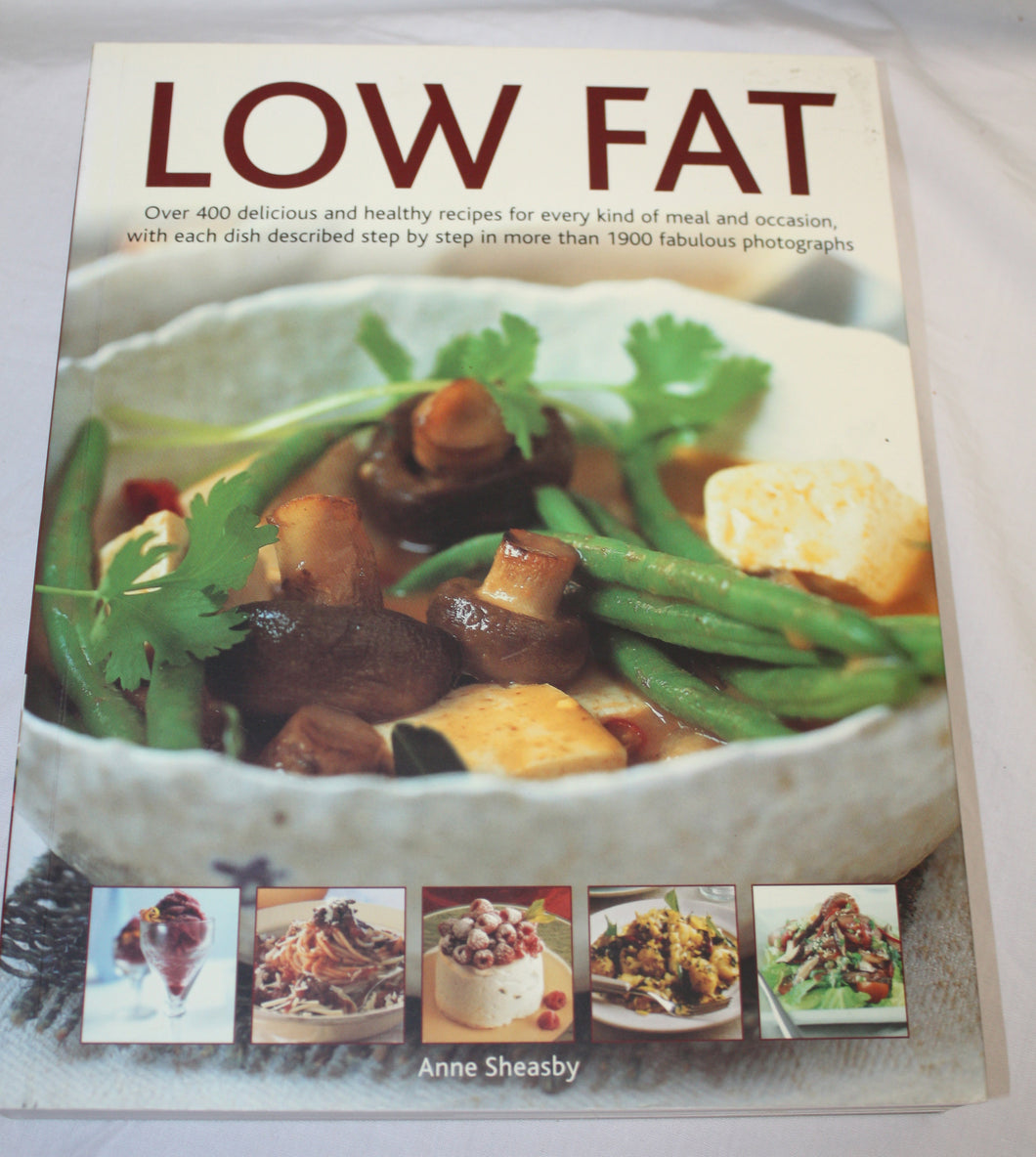 Anne Sheasby Low Fat Cook Book Anness Publishing