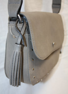 Cross Body Bag w/ Stud Hardware and Adjustable Shoulder strap (New w/ tags)