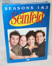 Load image into Gallery viewer, Seinfield Season 1&2 DVD Set (vol#1)