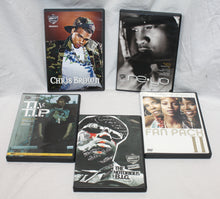Load image into Gallery viewer, R&B /  Rap Music DVD & Music Performance Lot of 6