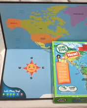 Load image into Gallery viewer, Leap Frog Tag Reading System Interactive World Map