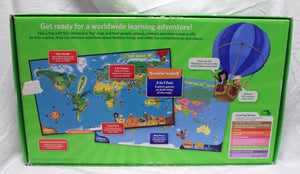 Leap Frog Tag Reading System Interactive World Map