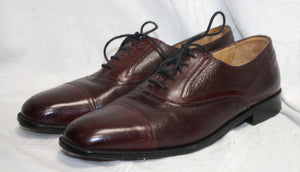 Johnston & Murphy Burgundy Brown Oxford Size 8M