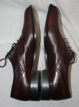 Load image into Gallery viewer, Johnston & Murphy Burgundy Brown Oxford Size 8M