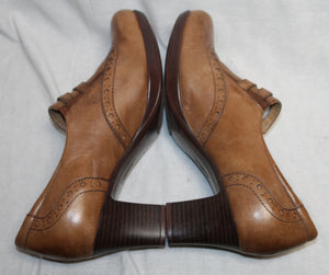 Earth Brand Brown Heeled Maryjane Shoes Size 9B