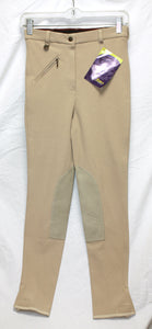 Tan Sport Riders Equestrian Pants Size 26R (new with tags)