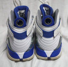 Load image into Gallery viewer, Nike 467807-102 Air Jordan 8.0 White / Blue-Silver Size 8.5