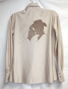 Men's Remy Brown Leather Double-Collar Leather Jacket Size 48