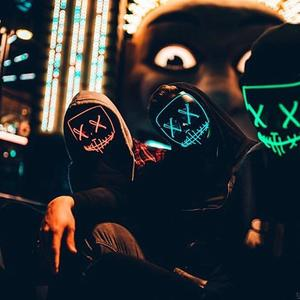 luckysoul-【Only $19.99 Today】 Halloween-Party & Rave LED Purge Mask