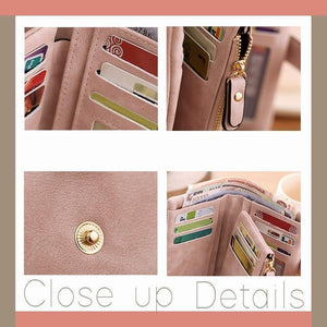 Women's Tri-Fold Wallet - 70% OFF TODAY - 【Buy 3 save more $8!!】