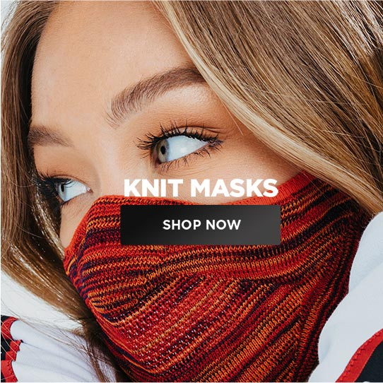 Knit masks