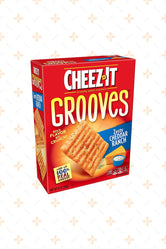 CHEEZ IT GROOVES ZESTY CHEDDAR RANCH 255G