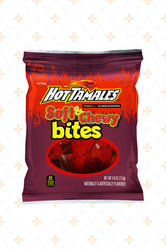 HOT TAMALES SOFT & CHEWY BITES 113G