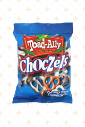 TOAD ALLY MIXED MILK & WHITE CHOCZELS 85G