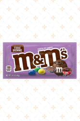 M&M FUDGE BROWNIE CANDY 40G