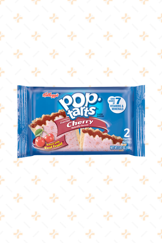 POP TARTS FROSTED CHERRY TWIN PACK 104G