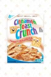 CINNAMON TOAST CRUNCH CEREAL 345G