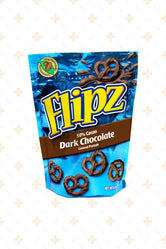 DEMET'S FLIPZ DARK CHOCOLATE COVERED PRETZELS 113G