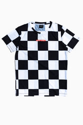 SOCIETY SPORT CHECKERBOARD T-SHIRT