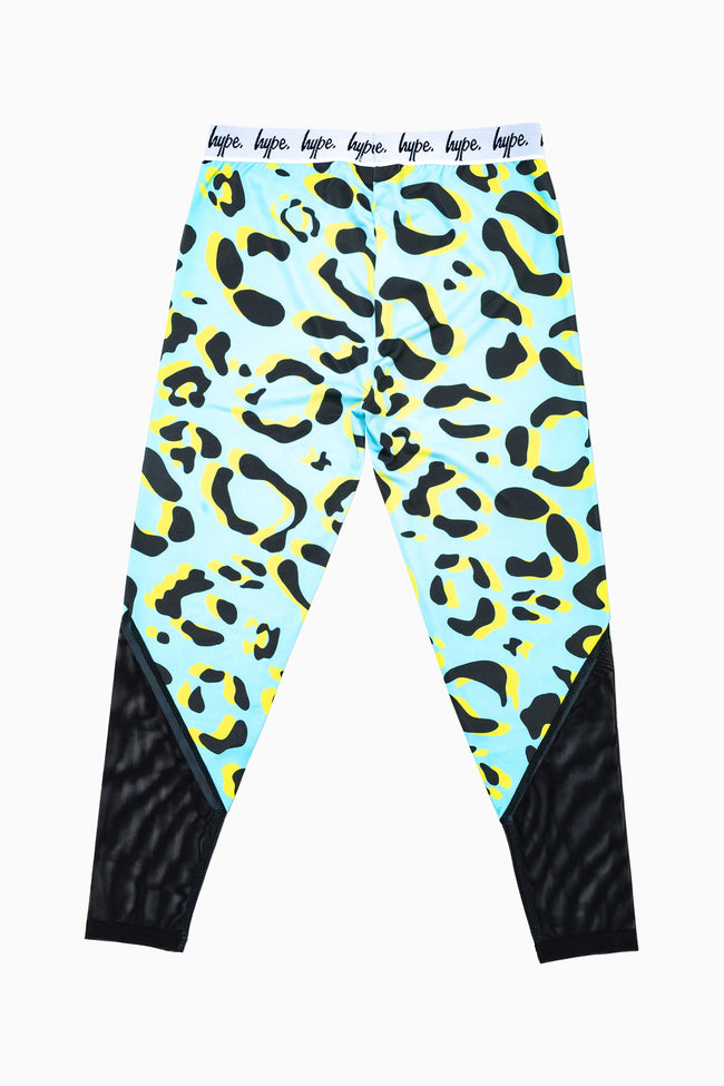 HYPE LEOPARD ANIMAL KIDS LEGGINGS