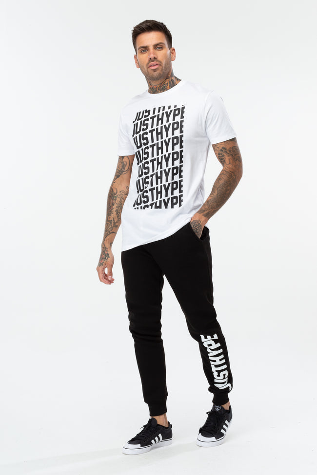 HYPE BLACK JH SPORTING MEN'S JOGGERS
