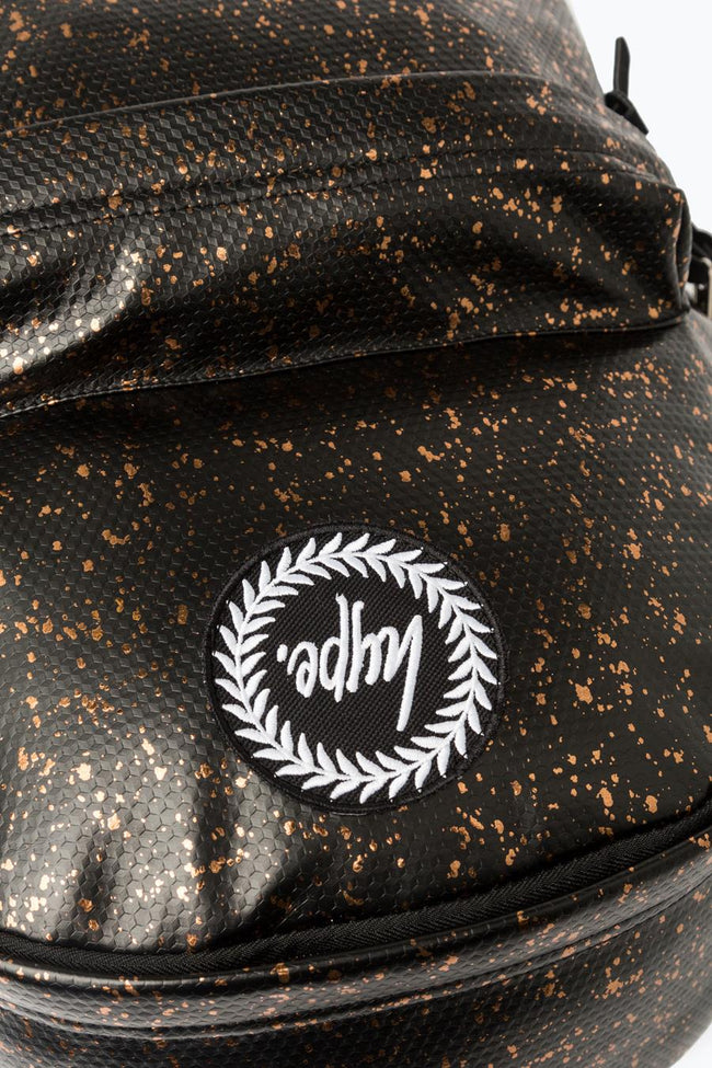 HYPE BLACK COPPER FLAKES BACKPACK