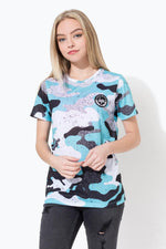 HYPE SPECKLE CAMO CREST KIDS SUB T-SHIRT