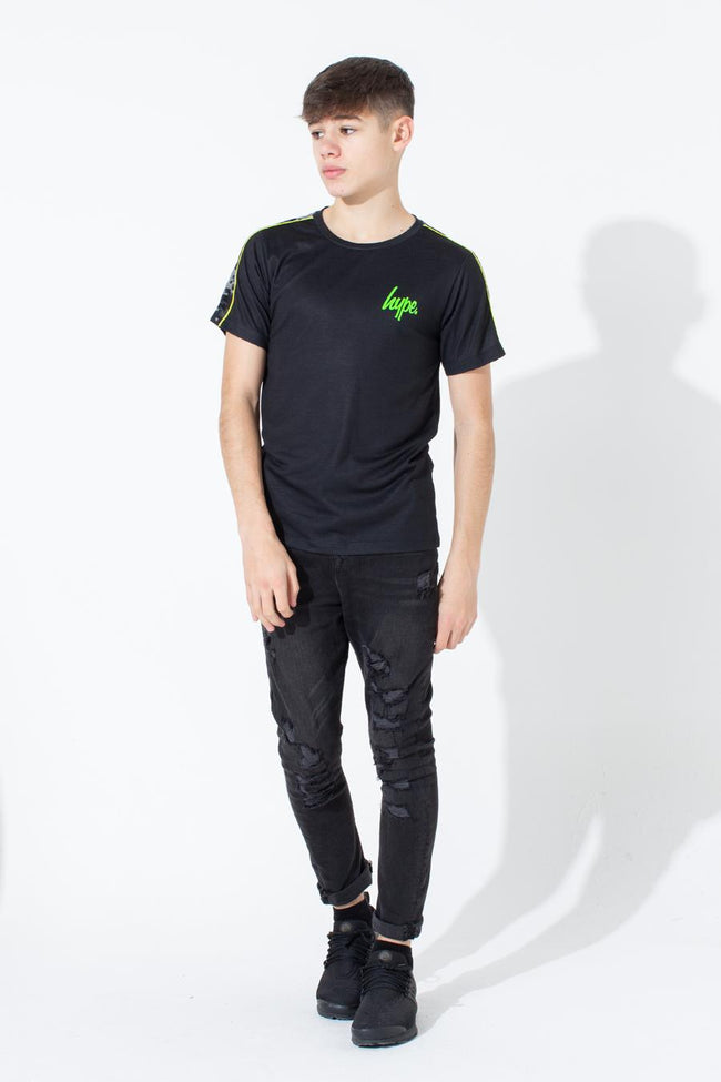 HYPE DIGI CAMO MICRO TAPE KIDS T-SHIRT
