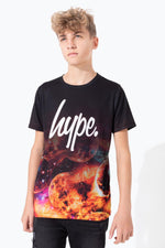 HYPE GALAXY MOONS FADE KIDS T-SHIRT