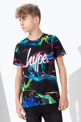 HYPE COLOUR RUN SCRIPT KIDS T-SHIRT