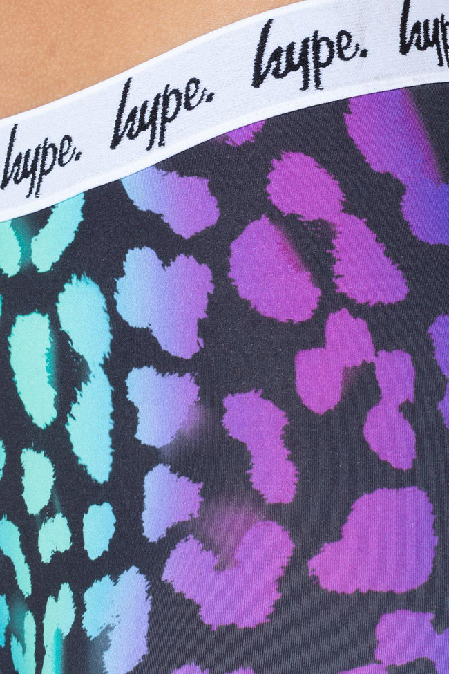 HYPE FADE LEOPARD KIDS LEGGINGS