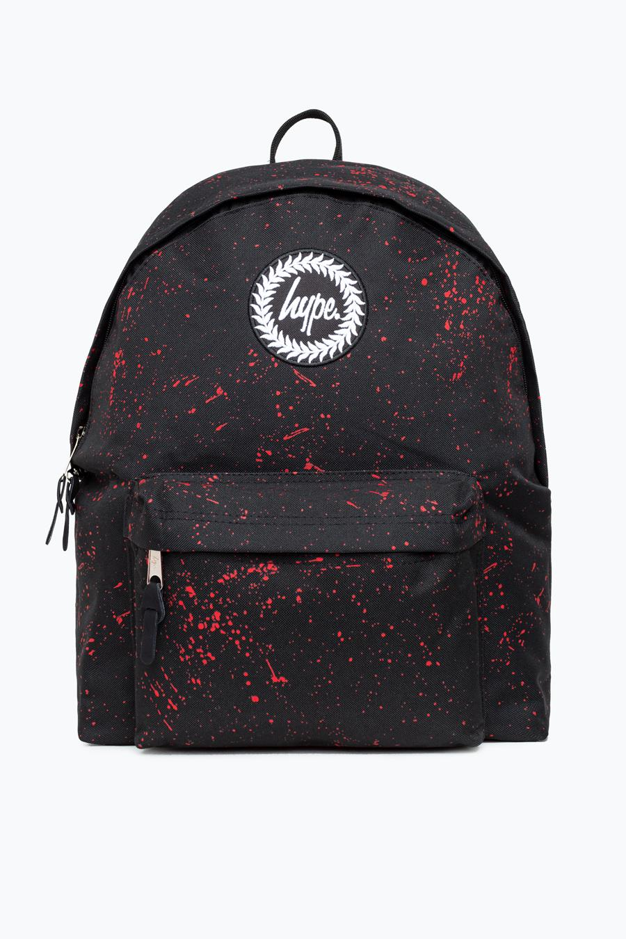 2018 sneakers cost charm los angeles HYPE BLACK WITH RED SPECKLE BACKPACK | Justhype ltd