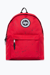 HYPE RED WITH BLACK SPECKLE BACKPACK