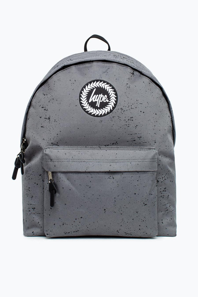 HYPE GREY WITH BLACK SPECKLE BACKPACK