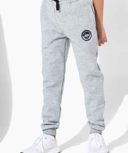 HYPE GREY CREST KIDS JOGGERS
