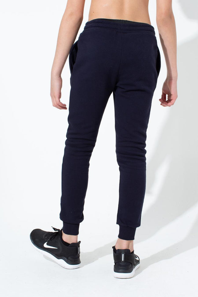 HYPE NAVY CREST KIDS JOGGERS